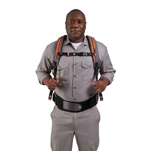 HUSHTONE™ 6Q Backpack - In Use Ergonomic Harness