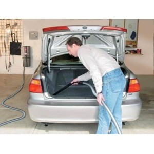 GUV ProGrade Garage Utility Vacuum - In Use Car
