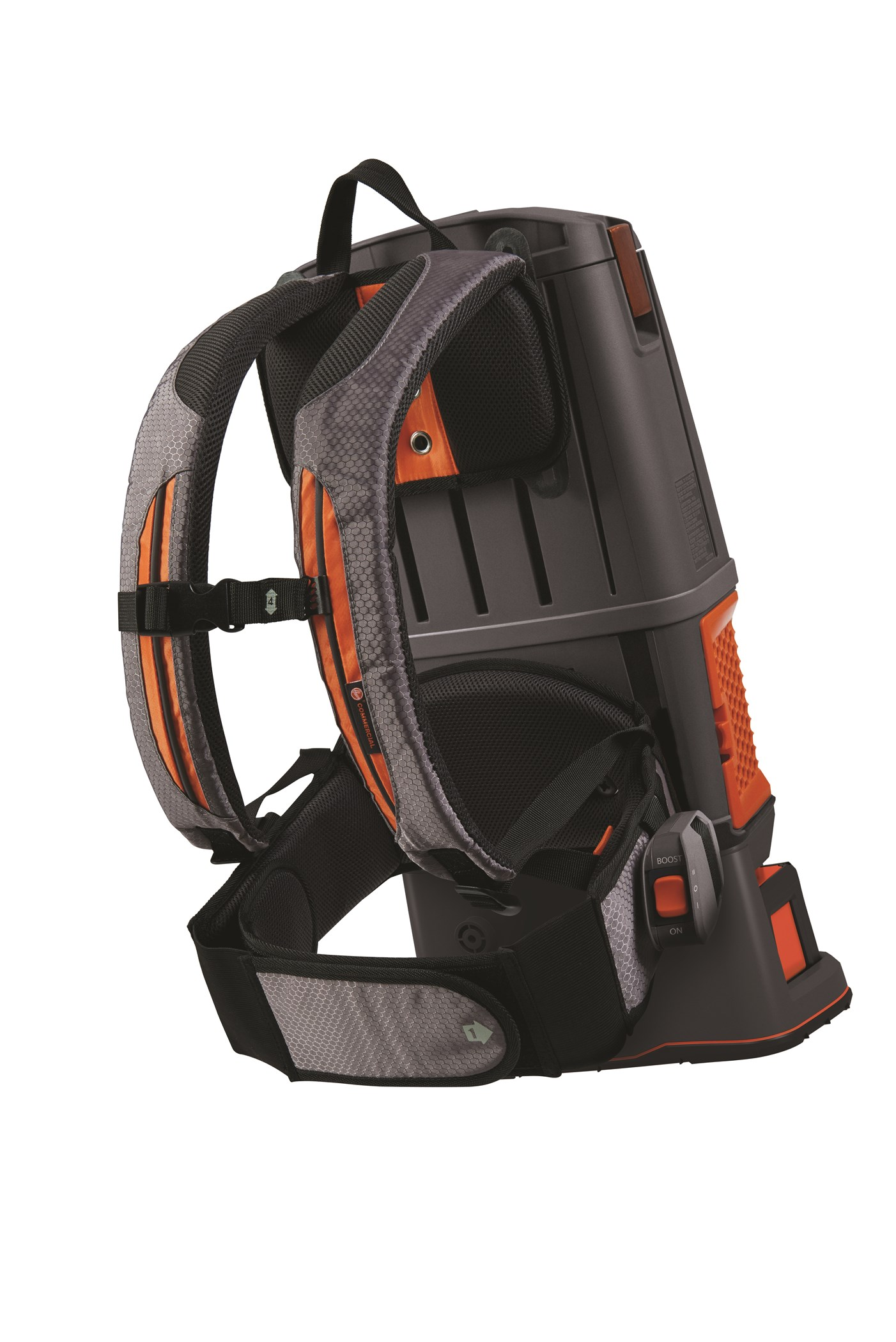 HUSHTONE 6Q Cordless Backpack Hoover Commercial