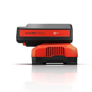 HVRPWR™ 40V Fast Charger - front with battery